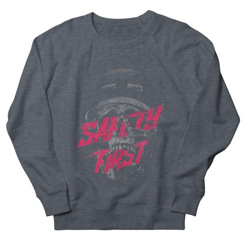 Safety first Women's Sweatshirt by Astronaut's Artist Shop
