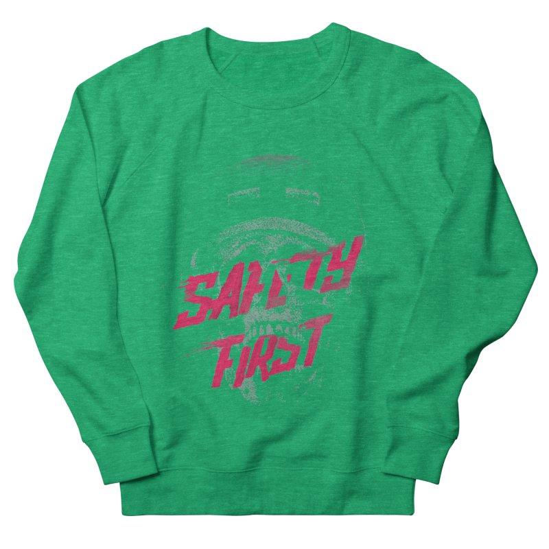 Safety first Men's Sweatshirt by Astronaut's Artist Shop