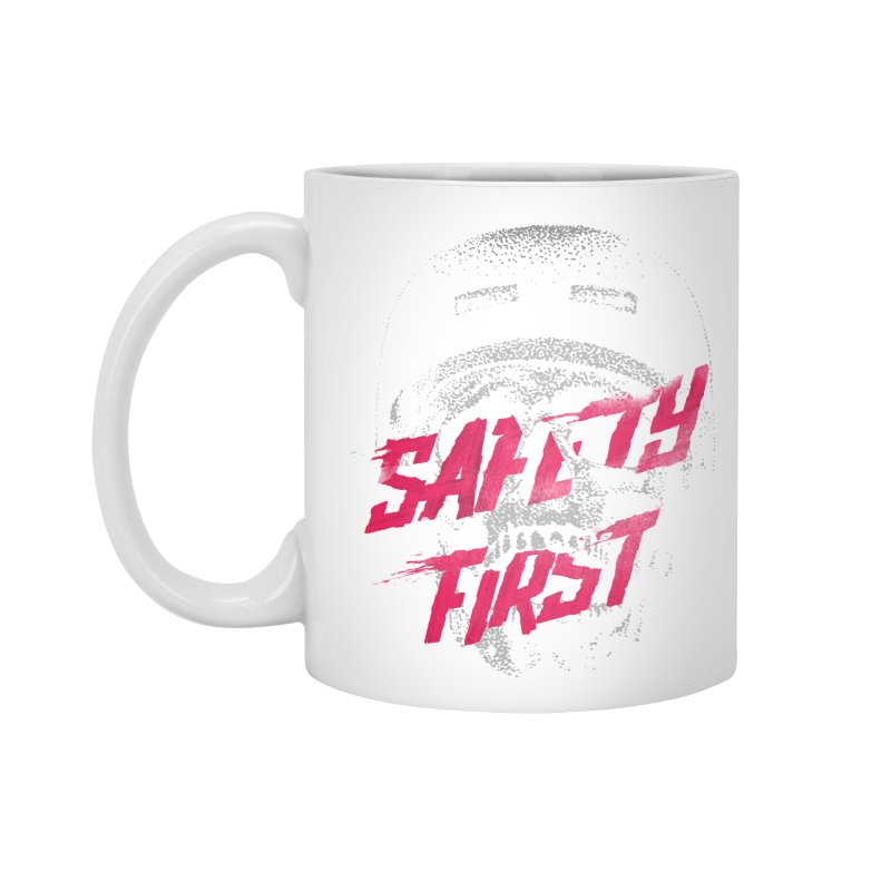 Safety first Accessories Mug by Astronaut's Artist Shop