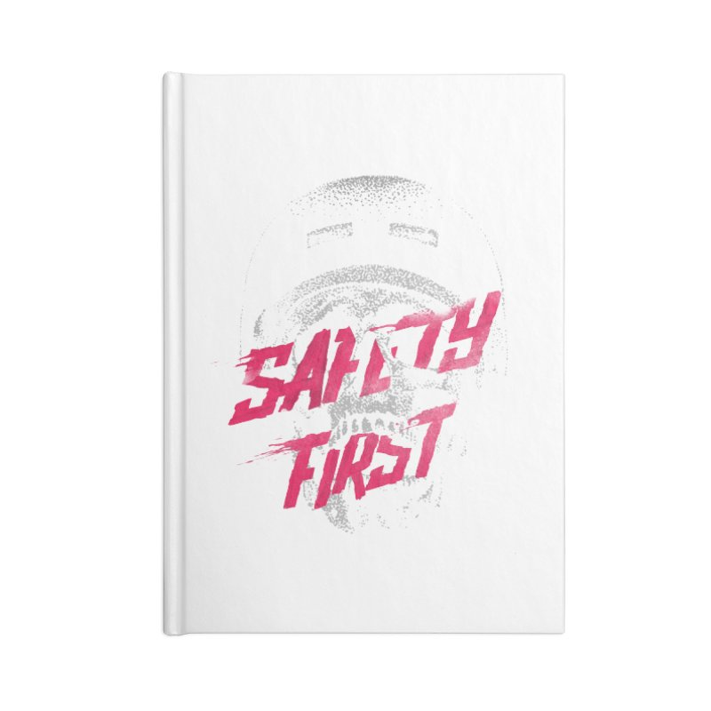 Safety first Accessories Notebook by Astronaut's Artist Shop
