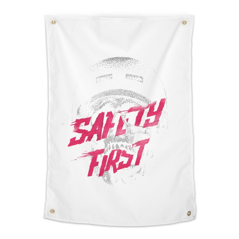 Safety first Home Tapestry by Astronaut's Artist Shop