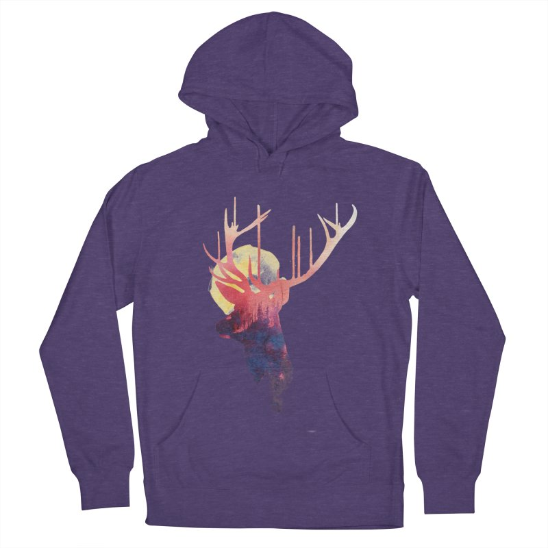 The burning sun Women's Pullover Hoody by Astronaut's Artist Shop