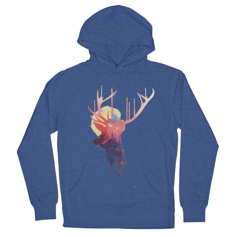 The burning sun Men's Pullover Hoody by Astronaut's Artist Shop