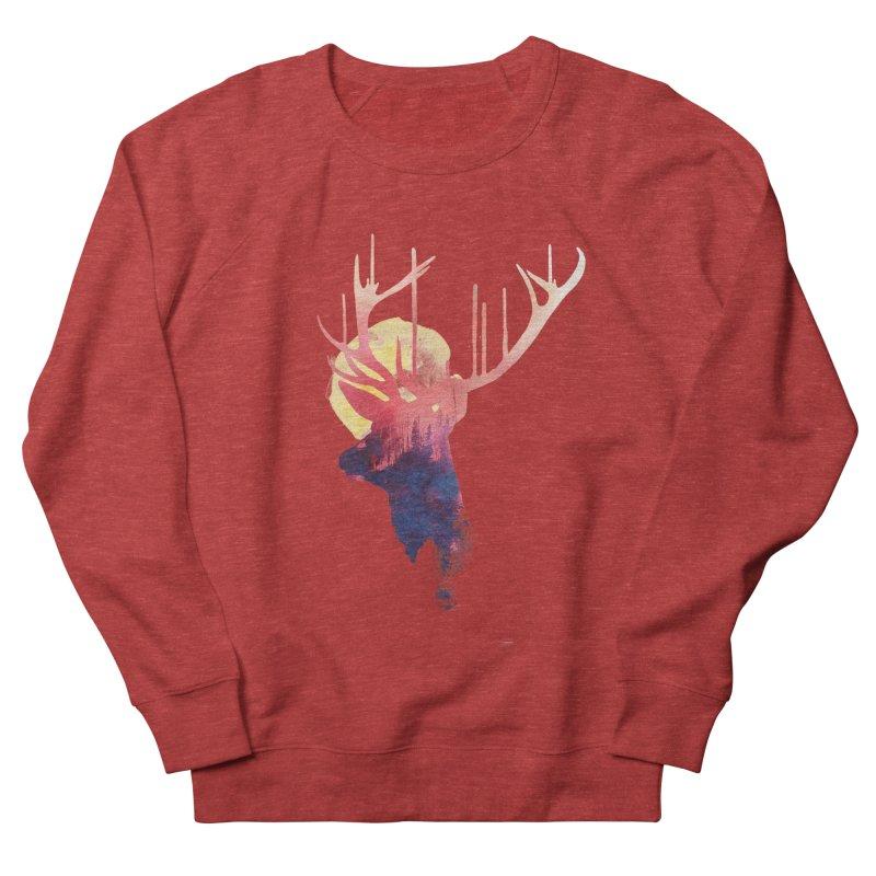 The burning sun Women's Sweatshirt by Astronaut's Artist Shop
