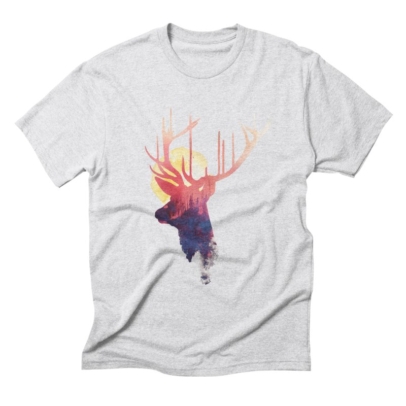 The burning sun Men's Triblend T-shirt by Astronaut's Artist Shop