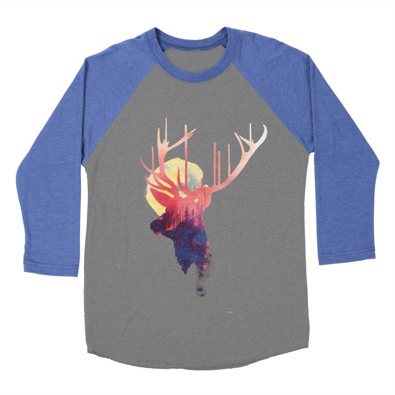 The burning sun Women's Baseball Triblend T-Shirt by Astronaut's Artist Shop