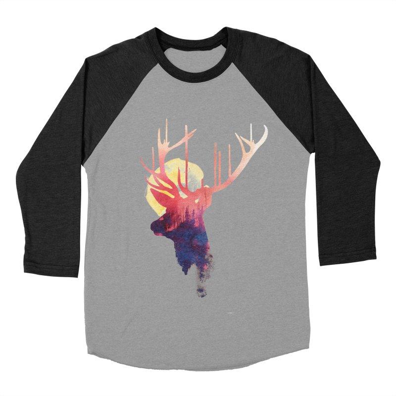 The burning sun Men's Baseball Triblend T-Shirt by Astronaut's Artist Shop