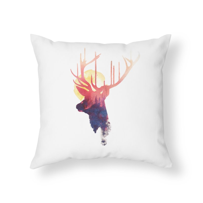 The burning sun Home Throw Pillow by Astronaut's Artist Shop