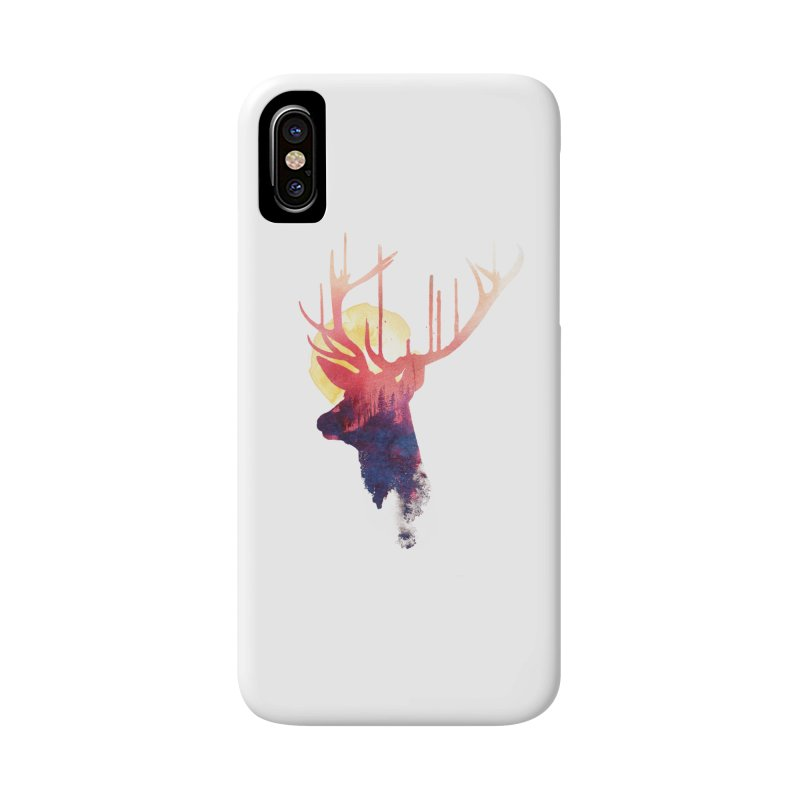The burning sun Accessories Phone Case by Astronaut's Artist Shop