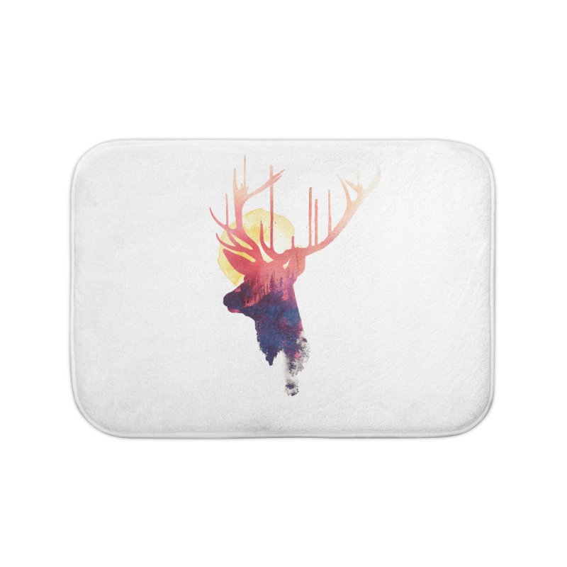 The burning sun Home Bath Mat by Astronaut's Artist Shop