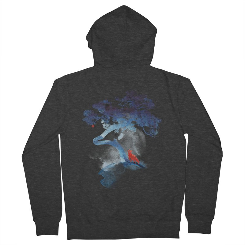 The last apple tree Men's Zip-Up Hoody by Astronaut's Artist Shop