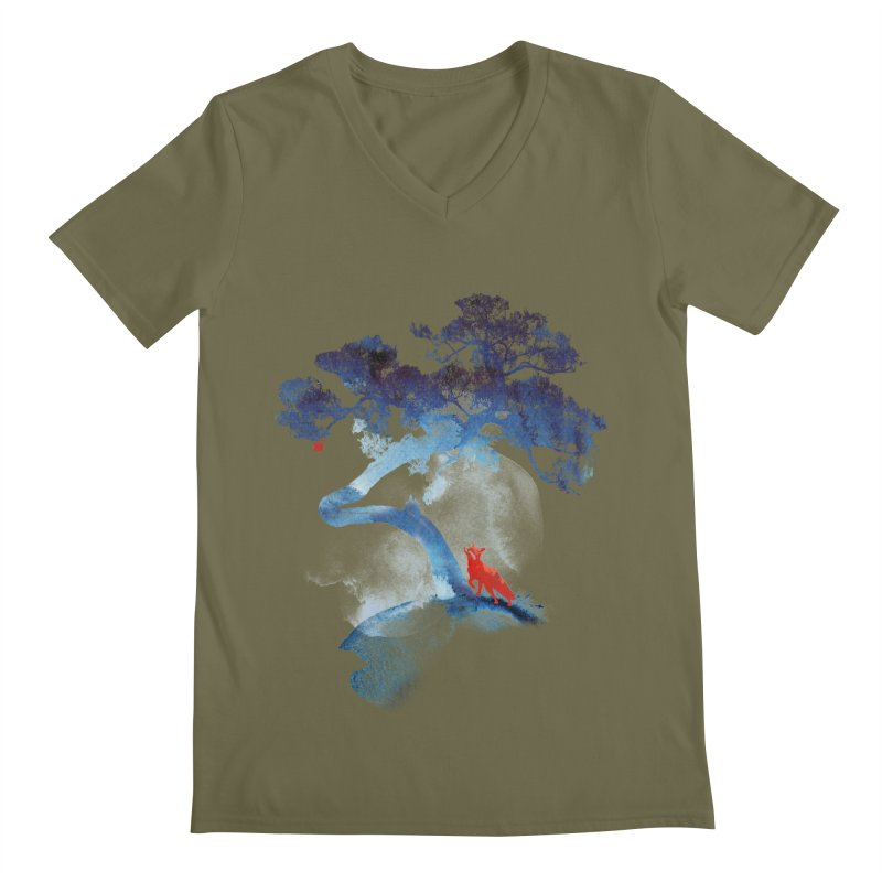 The last apple tree Men's V-Neck by Astronaut's Artist Shop