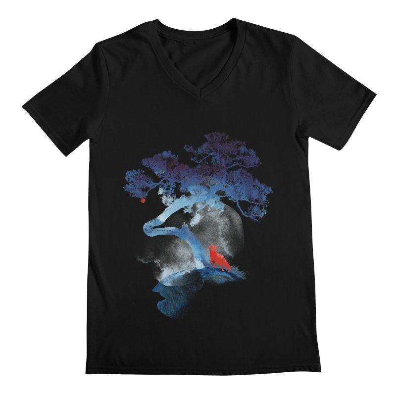 The last apple tree Men's V-Neck by Astronaut's Artist Shop