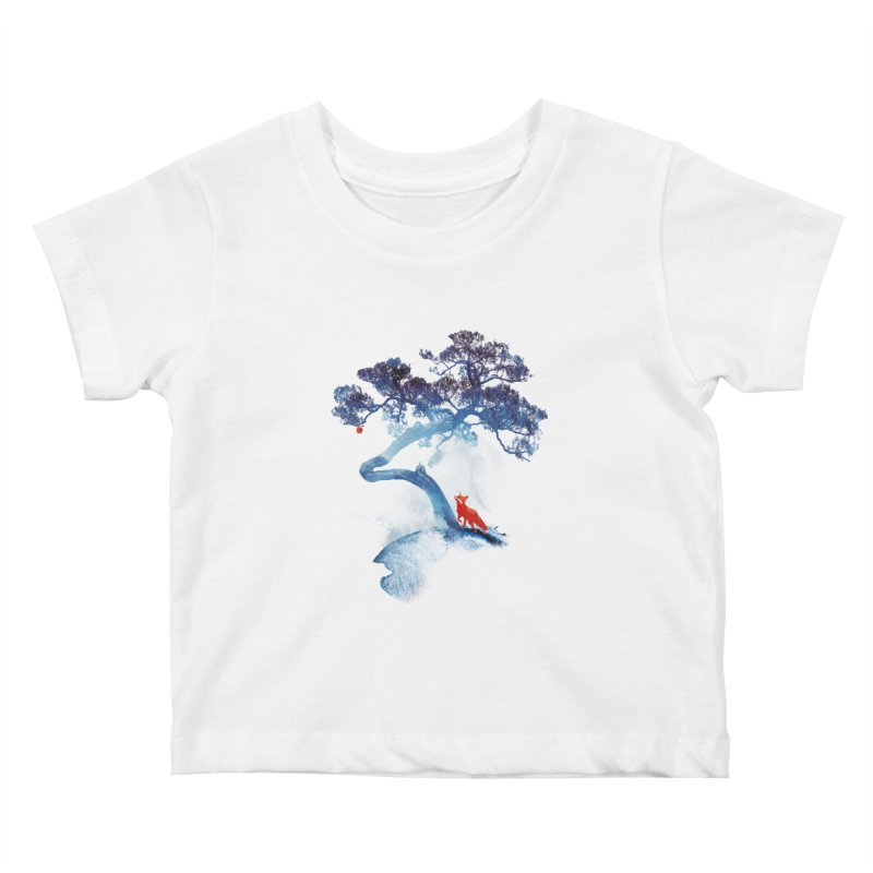 The last apple tree Kids Baby T-Shirt by Astronaut's Artist Shop