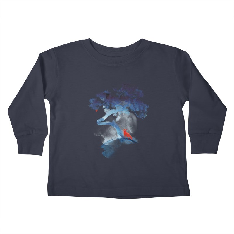 The last apple tree Kids Toddler Longsleeve T-Shirt by Astronaut's Artist Shop