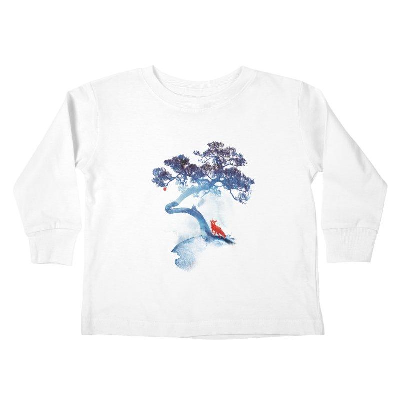 The last apple tree Kids Toddler Longsleeve T-Shirt by Astronaut's Artist Shop