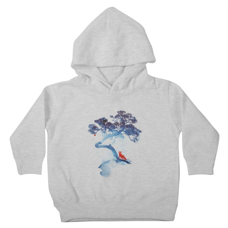 The last apple tree Kids Toddler Pullover Hoody by Astronaut's Artist Shop