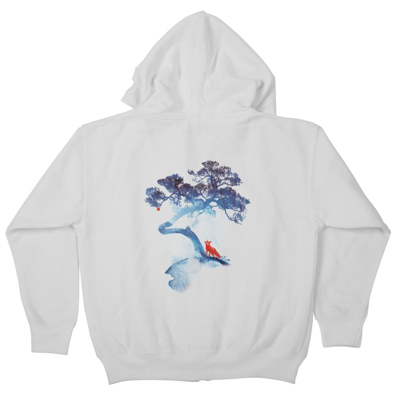 The last apple tree Kids Zip-Up Hoody by Astronaut's Artist Shop