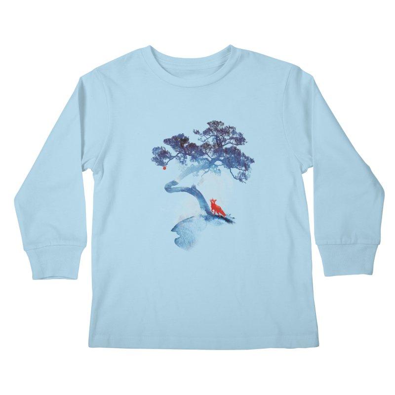 The last apple tree Kids Longsleeve T-Shirt by Astronaut's Artist Shop