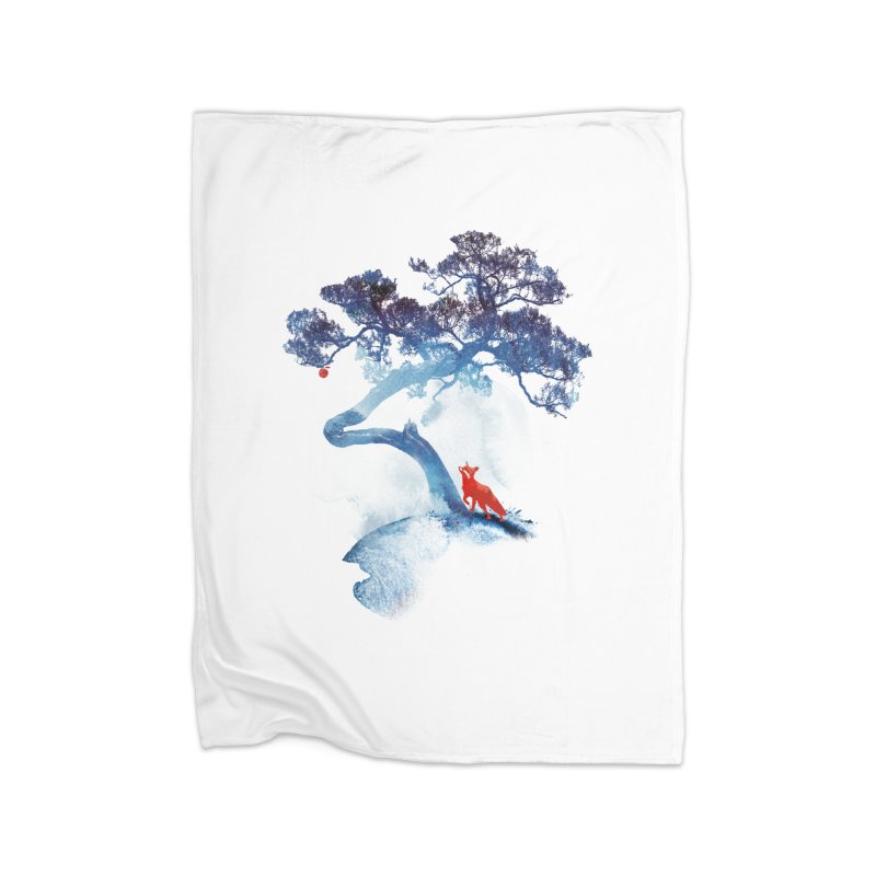 The last apple tree Home Blanket by Astronaut's Artist Shop