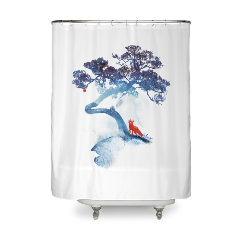 The last apple tree Home Shower Curtain by Astronaut's Artist Shop
