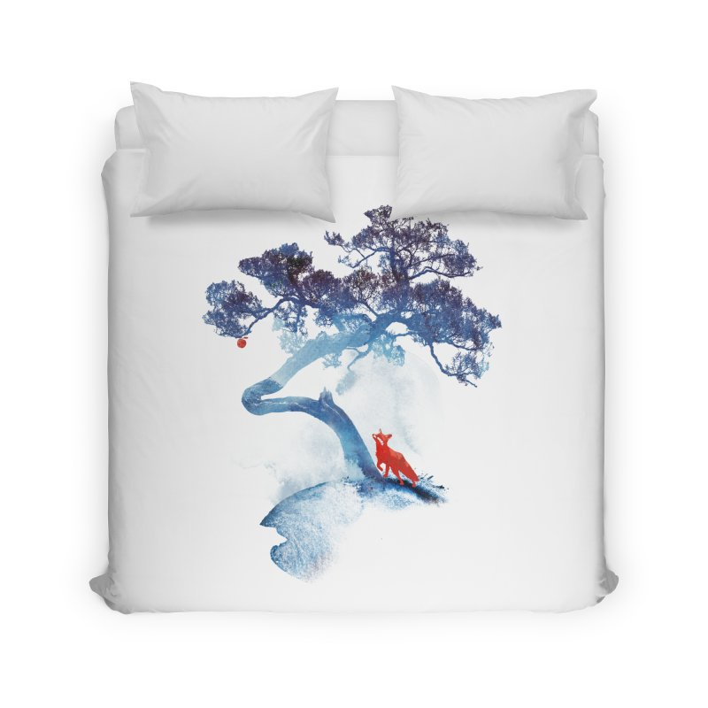 The last apple tree Home Duvet by Astronaut's Artist Shop