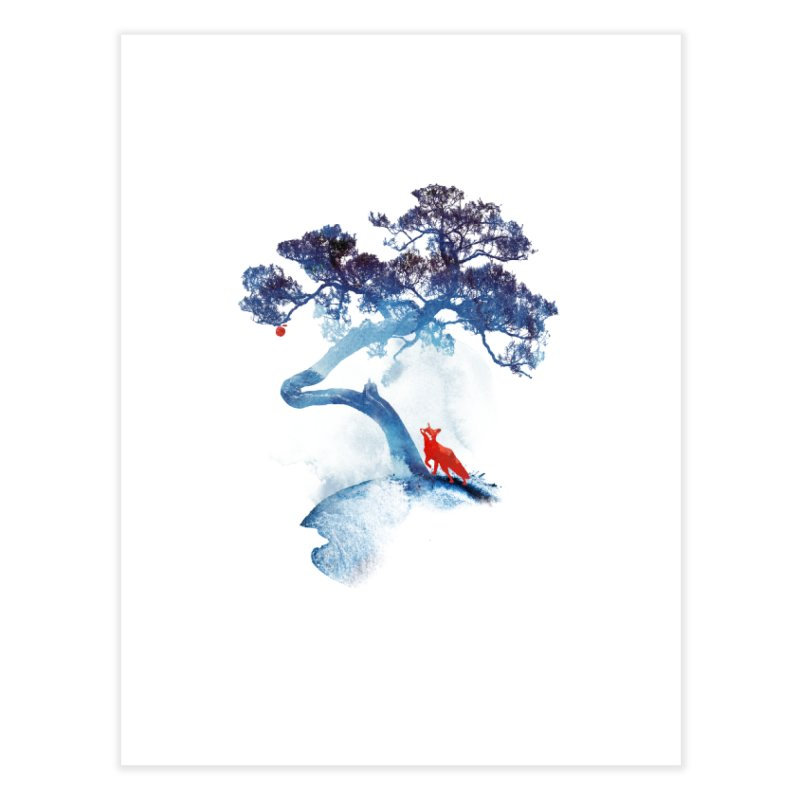 The last apple tree Home Fine Art Print by Astronaut's Artist Shop