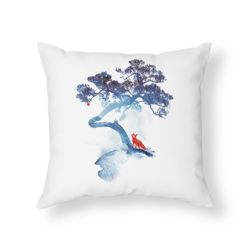 The last apple tree Home Throw Pillow by Astronaut's Artist Shop