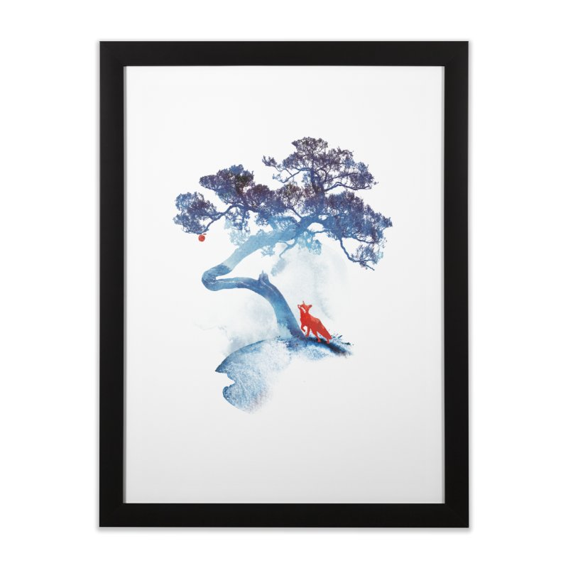 The last apple tree Home Framed Fine Art Print by Astronaut's Artist Shop