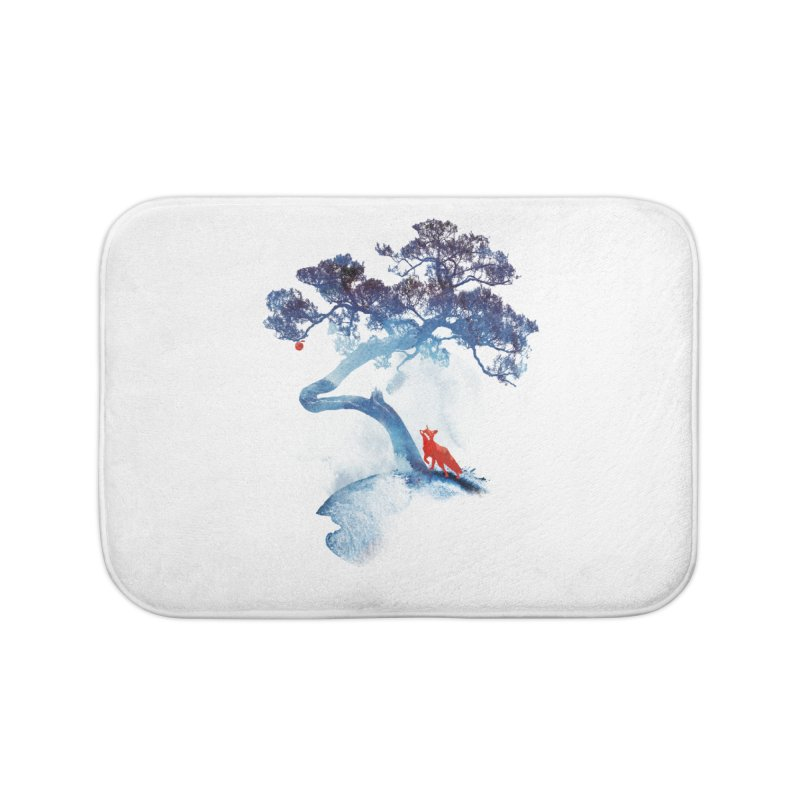 The last apple tree Home Bath Mat by Astronaut's Artist Shop