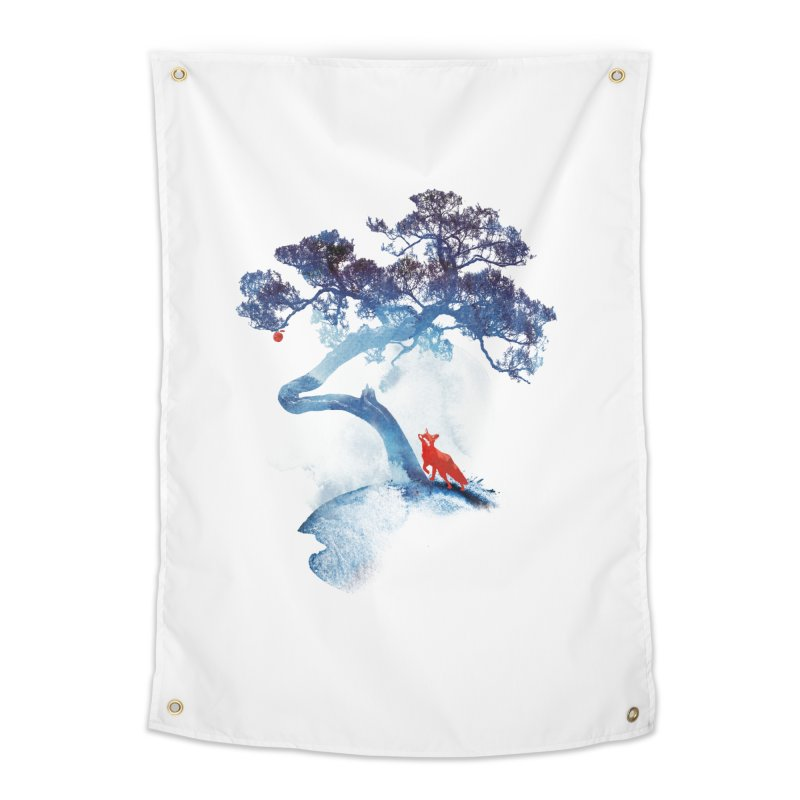 The last apple tree Home Tapestry by Astronaut's Artist Shop