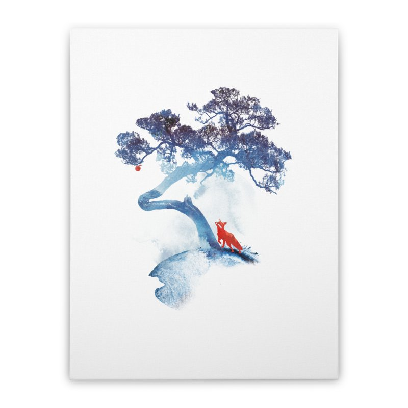 The last apple tree Home Stretched Canvas by Astronaut's Artist Shop