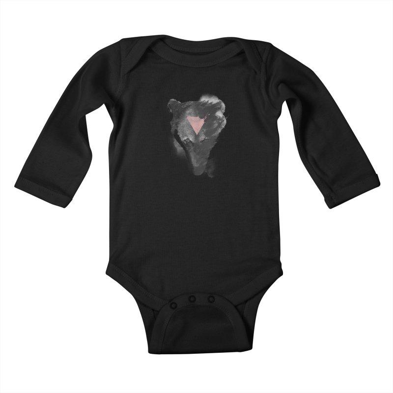The missing part Kids Baby Longsleeve Bodysuit by Astronaut's Artist Shop