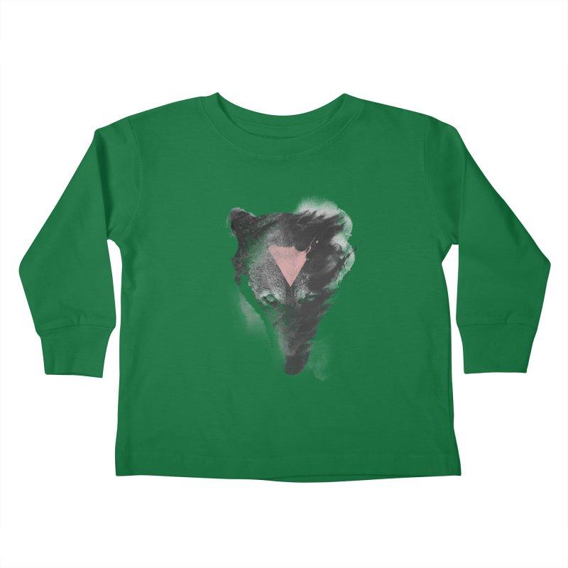 The missing part Kids Toddler Longsleeve T-Shirt by Astronaut's Artist Shop