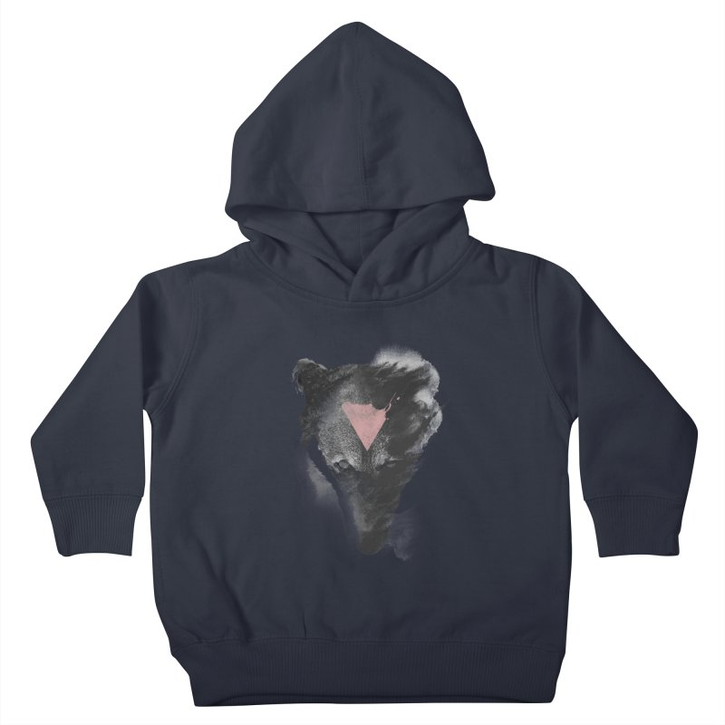 The missing part Kids Toddler Pullover Hoody by Astronaut's Artist Shop