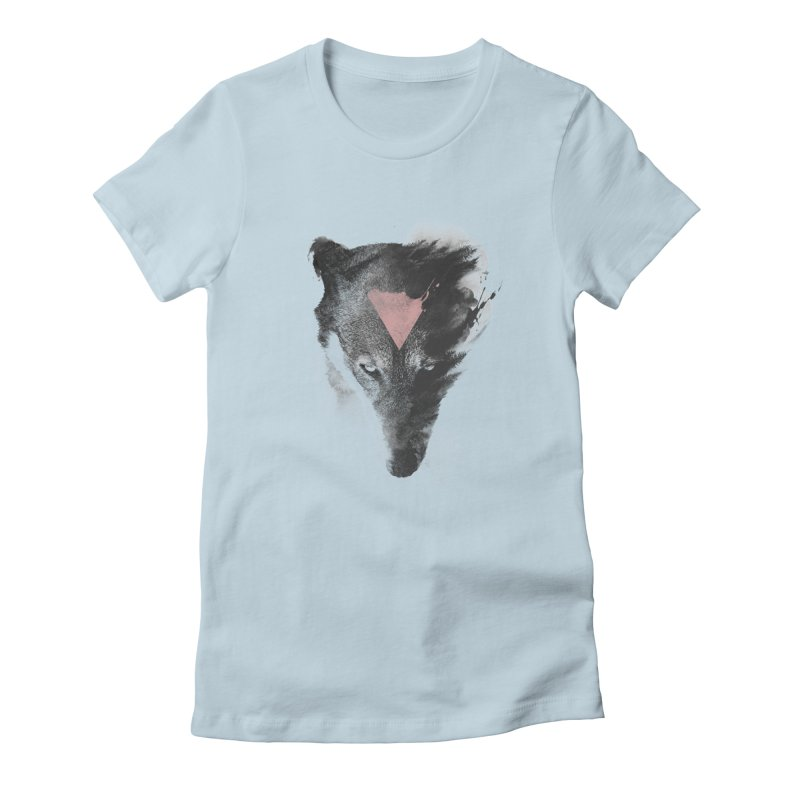 The missing part Women's Fitted T-Shirt by Astronaut's Artist Shop