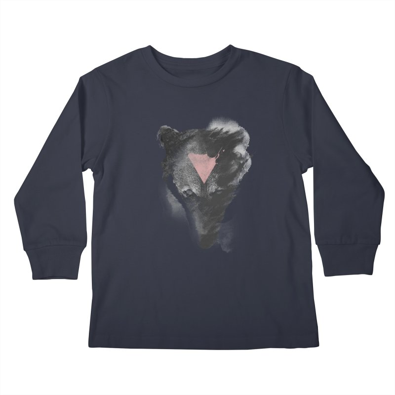 The missing part Kids Longsleeve T-Shirt by Astronaut's Artist Shop
