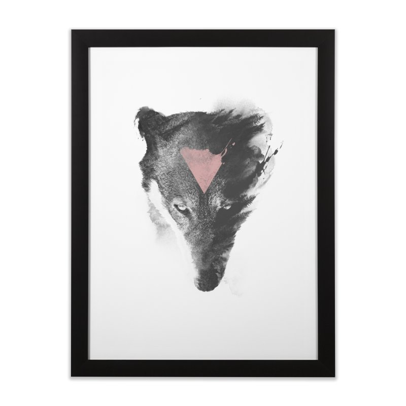 The missing part Home Framed Fine Art Print by Astronaut's Artist Shop