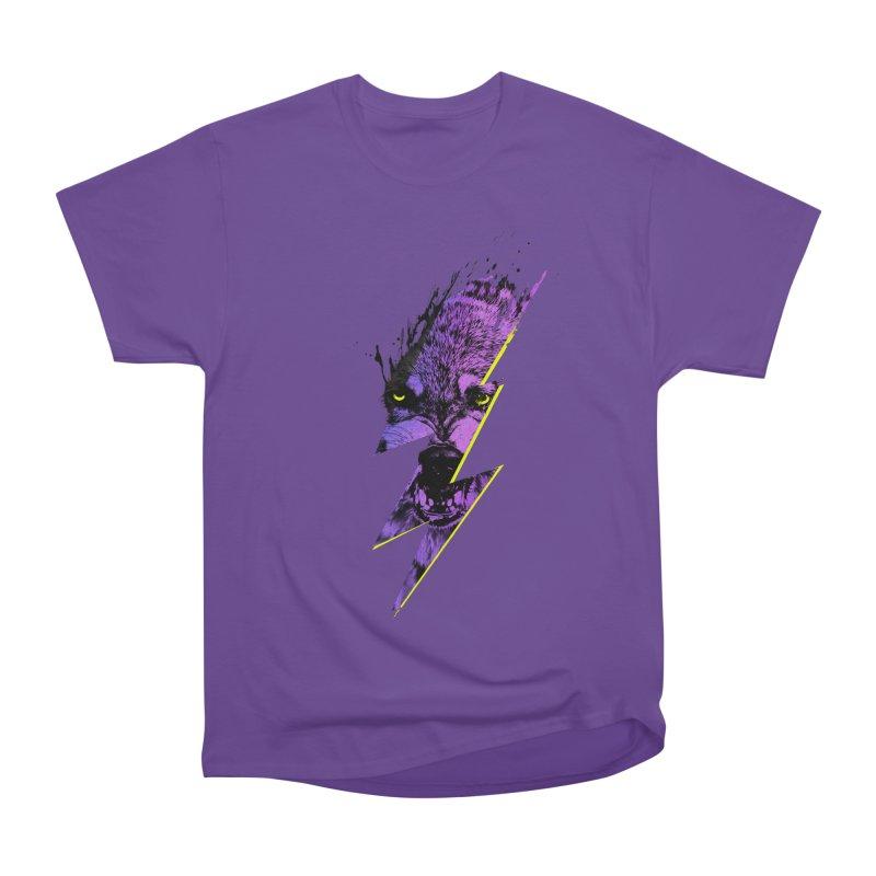 Thunderwolf Men's Classic T-Shirt by Astronaut's Artist Shop