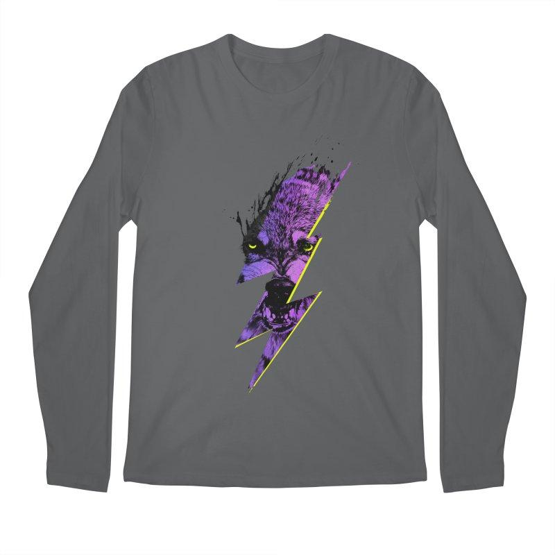 Thunderwolf Men's Longsleeve T-Shirt by Astronaut's Artist Shop