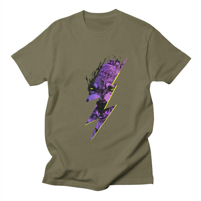 Thunderwolf Women's Unisex T-Shirt by Astronaut's Artist Shop