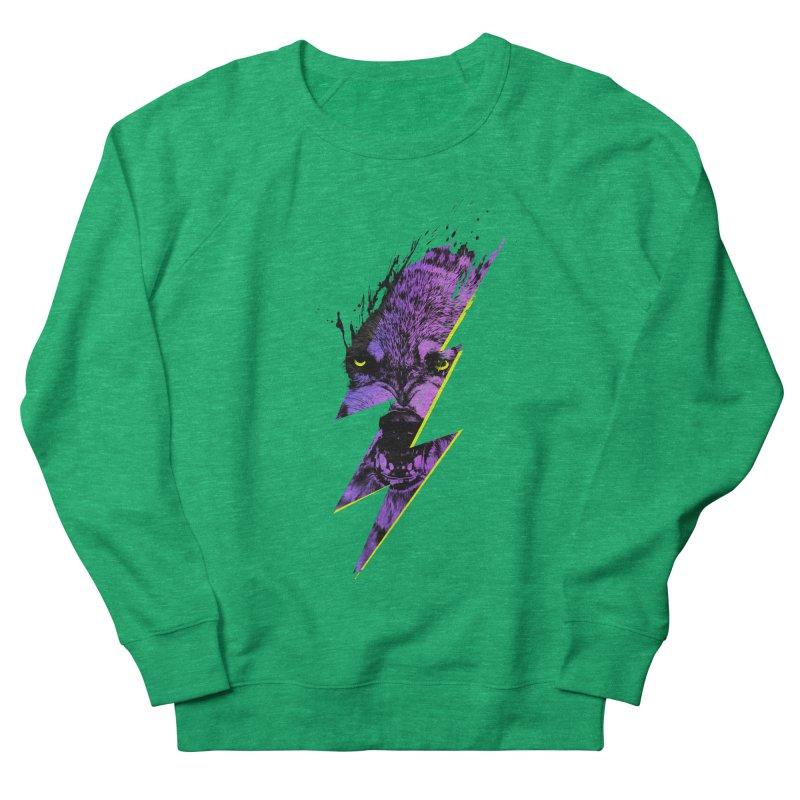 Thunderwolf Women's Sweatshirt by Astronaut's Artist Shop