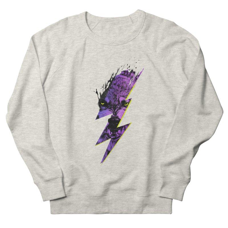 Thunderwolf Men's Sweatshirt by Astronaut's Artist Shop