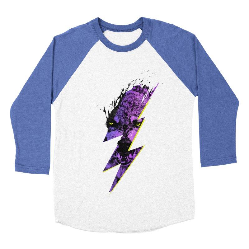 Thunderwolf Men's Baseball Triblend T-Shirt by Astronaut's Artist Shop