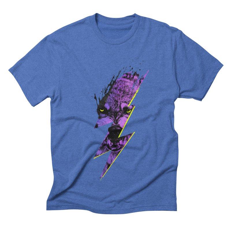 Thunderwolf Men's Triblend T-shirt by Astronaut's Artist Shop