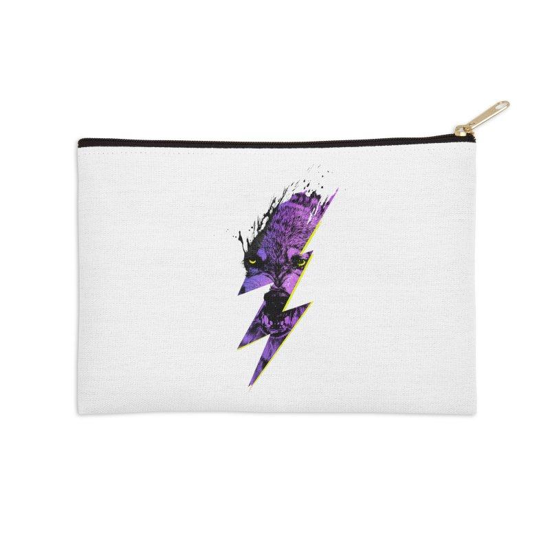 Thunderwolf Accessories Zip Pouch by Astronaut's Artist Shop
