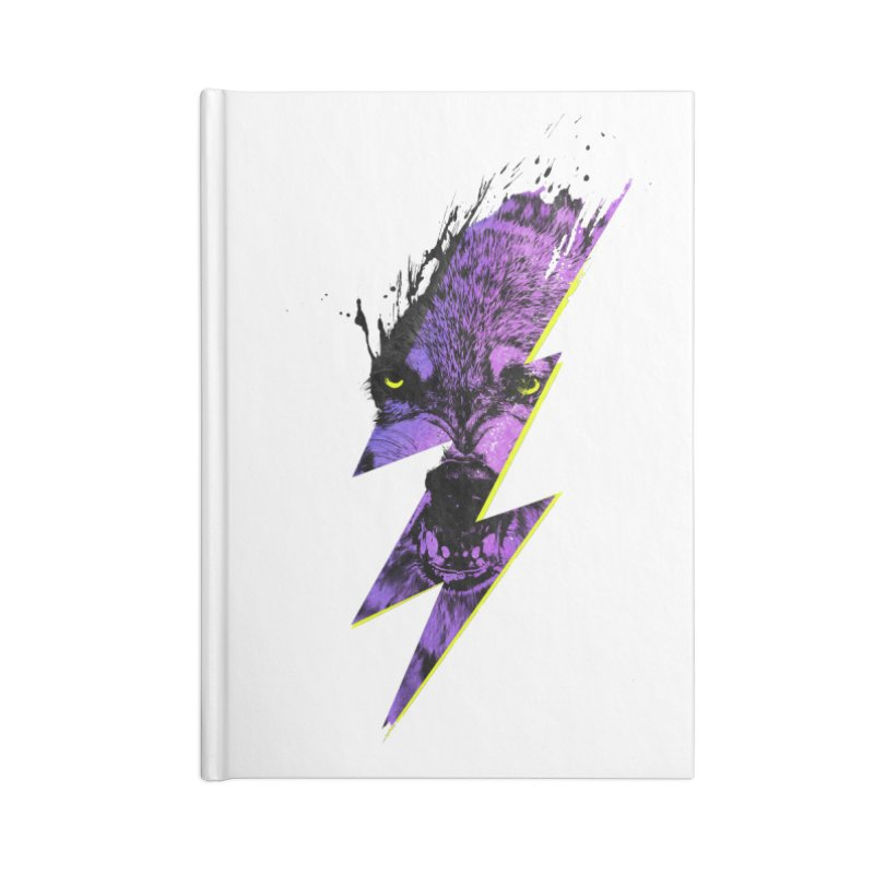 Thunderwolf Accessories Notebook by Astronaut's Artist Shop