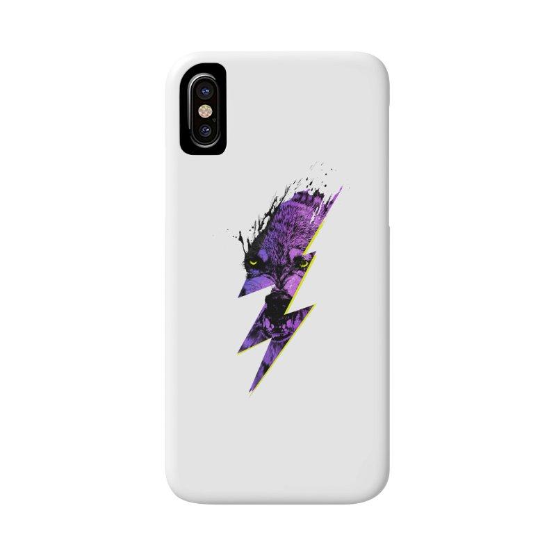 Thunderwolf Accessories Phone Case by Astronaut's Artist Shop