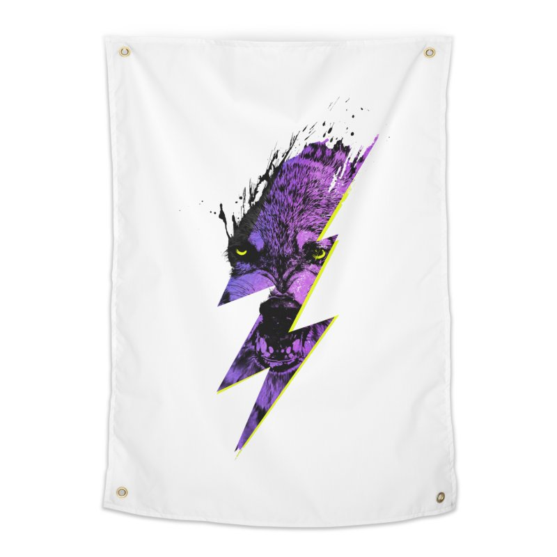 Thunderwolf Home Tapestry by Astronaut's Artist Shop