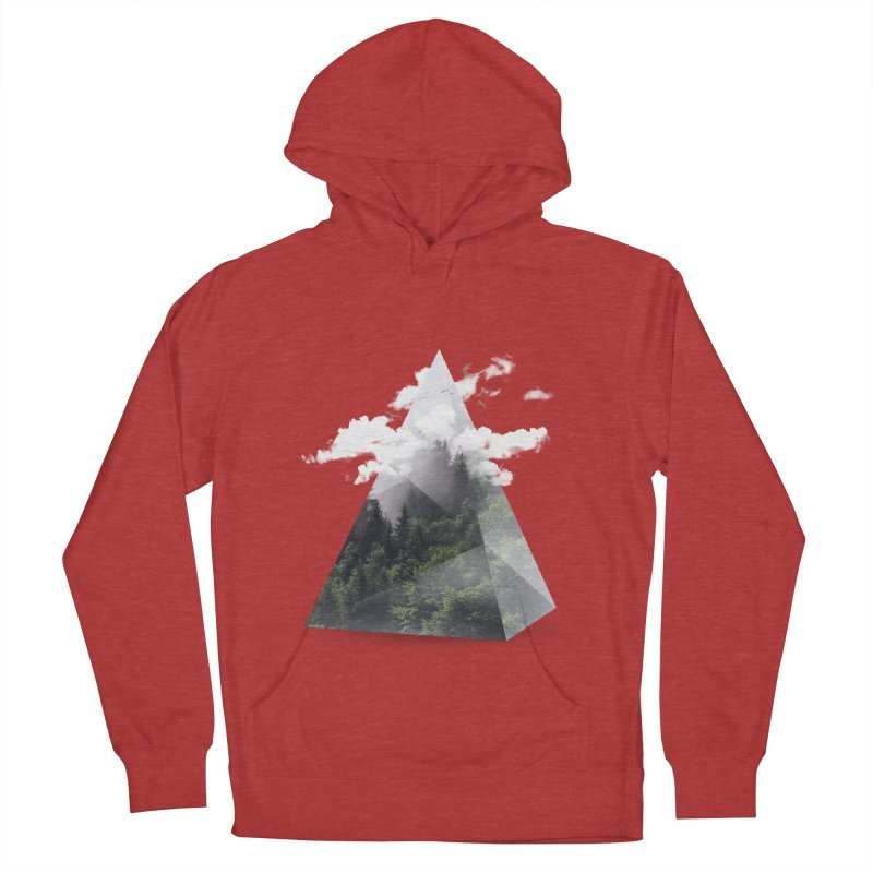 Triangle Women's Pullover Hoody by Astronaut's Artist Shop